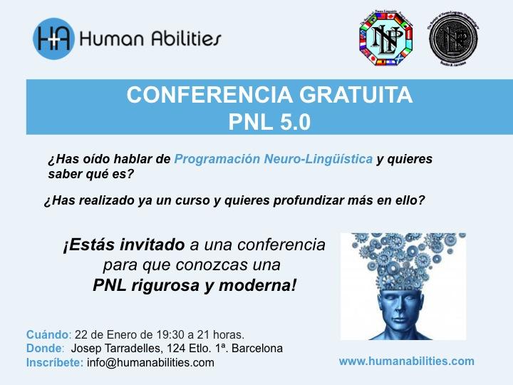 Conferencia pnl 22 enero