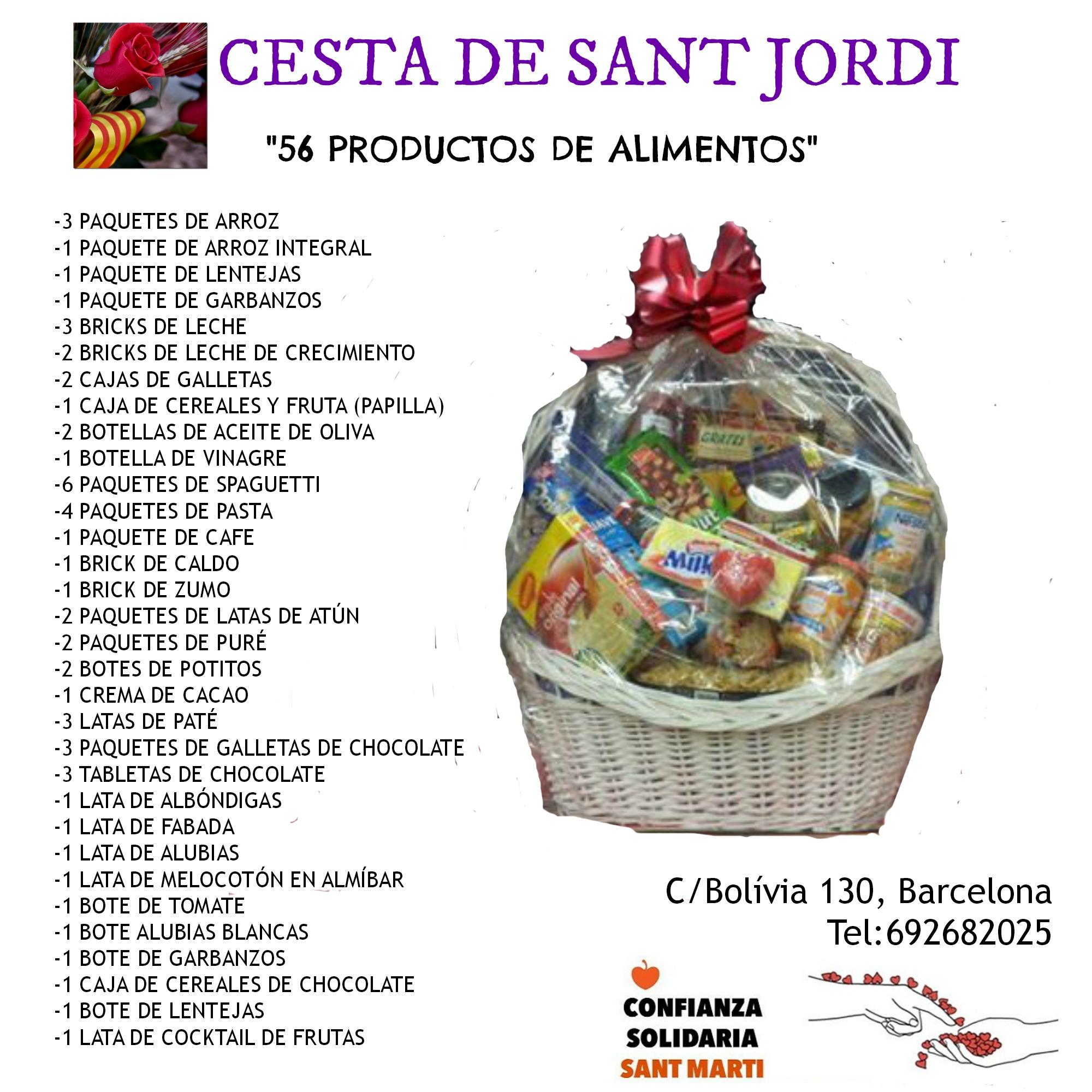 CESTA DE SANT JORDI