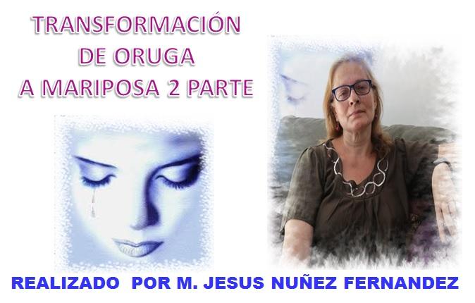 AUDIO TALLER TRANSFORMACIÓN DE ORUGA A MARIPOSA – 2 PARTE