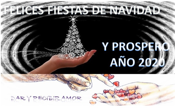 FELICES FIESTAS DE NAVIDAD Y PROSPERO ANO 2020