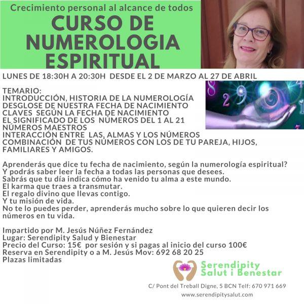 NUEVO CURSO NUMEROLOGÍA ESPIRITUAL