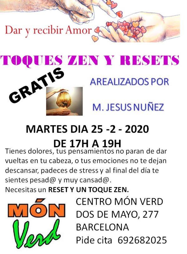 TOQUES  ZEN Y RESET