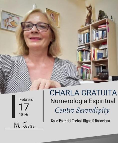 DÍA 17-2-2020 — CHARLA GRATUITA