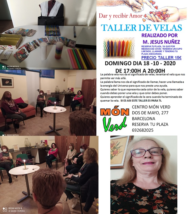 TALLER DE VELAS