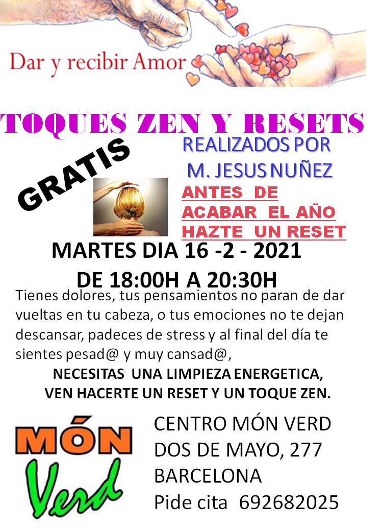 TOQUES ZEN Y RESETS