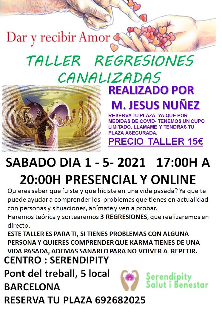 TALLER:  REGRESIONES CANALIZADAS